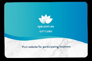 Spa Gift Card